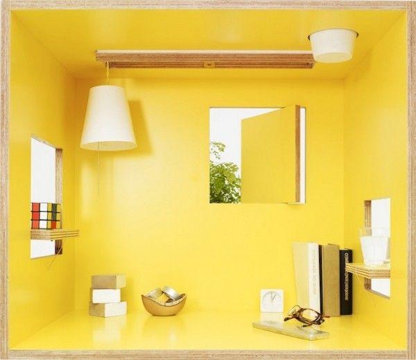 Koloro Desk and Stool - Torafu Architects