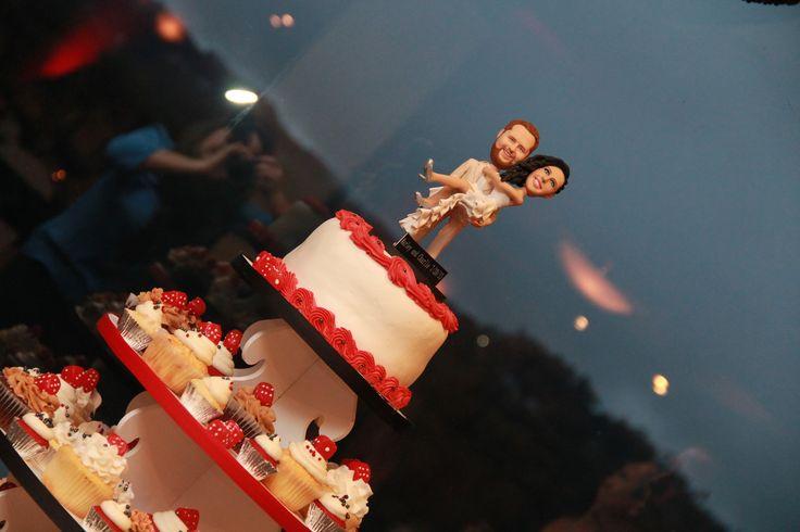 Custom Cake Topper for a vegas wedding!