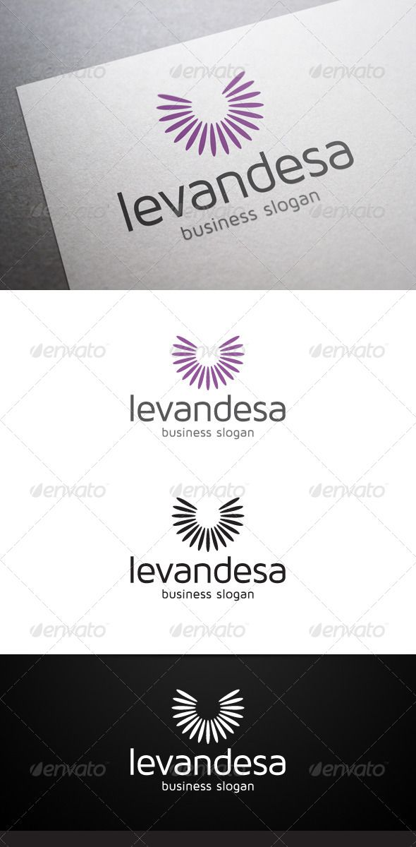 Levandesa Logo - Nature Logo Templates