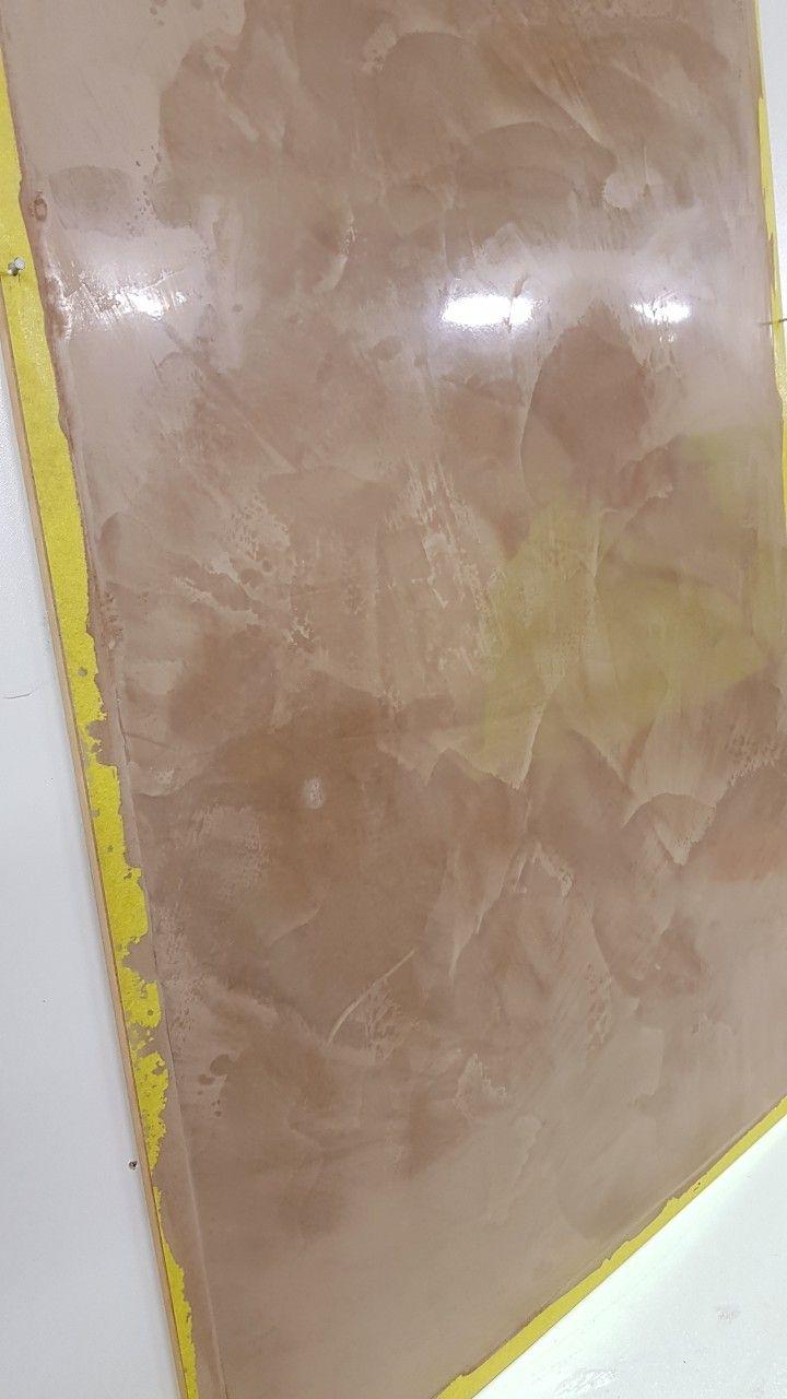 Venetian plastering sample