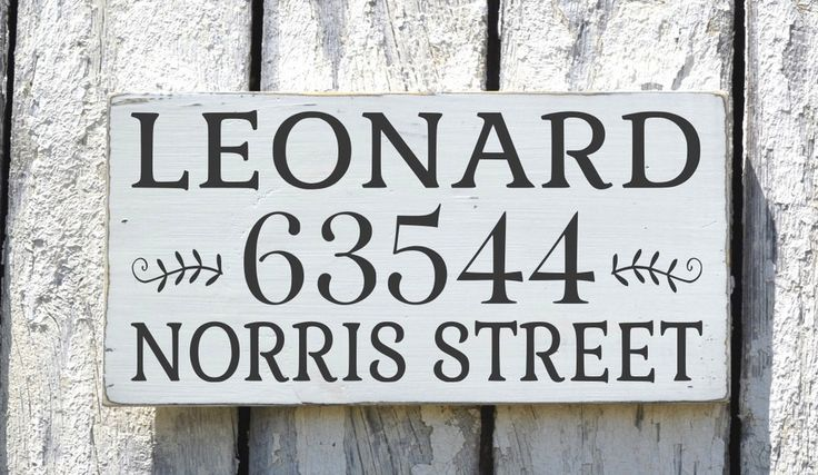 Personalized Address Signs Outdoor House Street Addresses Plaque Painted Last Family Names Numbers New First Home Entry Signs Wedding Gift
