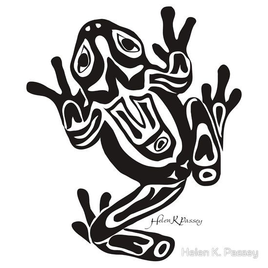 Spiritual messengers and bearers of shamanic power, frogs have a mystic place in many native traditions. Description from redbubble.com. I searched for this on bing.com/images