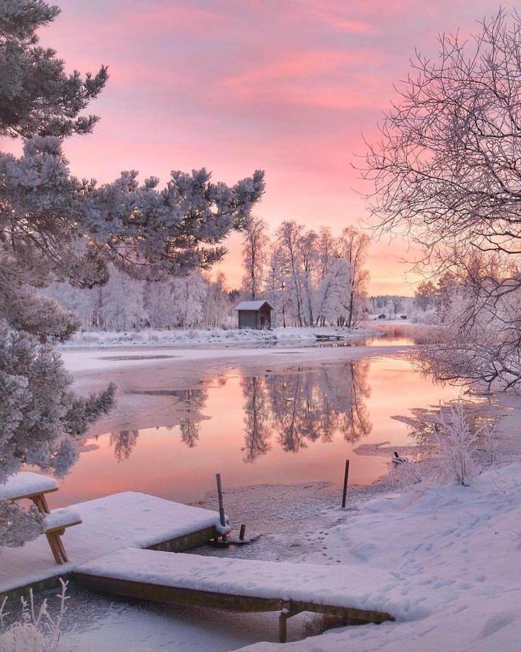"326.5k Likes, 1,821 Comments - BEAUTIFUL DESTINATIONS (@beautifuldestinations) on Instagram: ""Morning skies in winter ✨ (: @mariaanderhell)"""