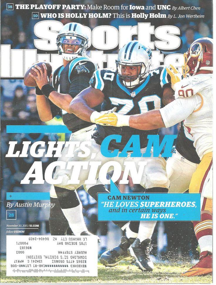 Cam Newton Carolina Panthers Football Sports Illustrated Magazine Nov 30, 2015 #unknown #CarolinaPanthers