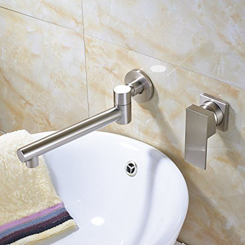 Bathroom Faucets Diy Rozin Single Handle Swivel Spout Bathroom