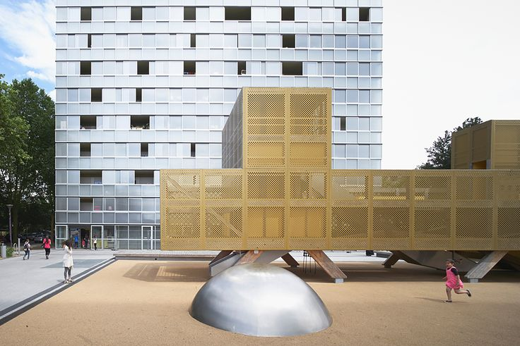 Urban Renovation Lormont / LAN Architecture