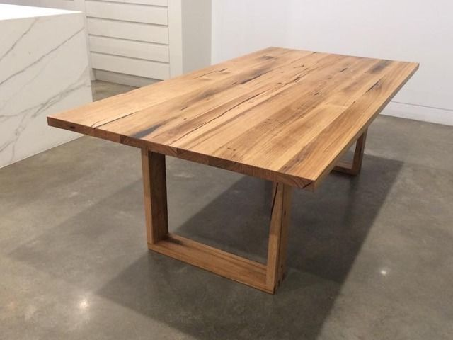 Recycled Messmate Dining table by Eco wood design - Dining Table, Recycled, Contemporary, Messmate, Table