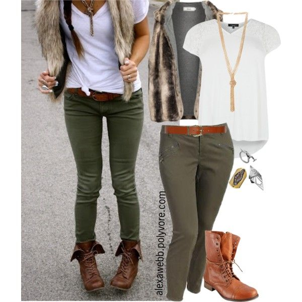 27 best Dark green pants outfit images on Pinterest