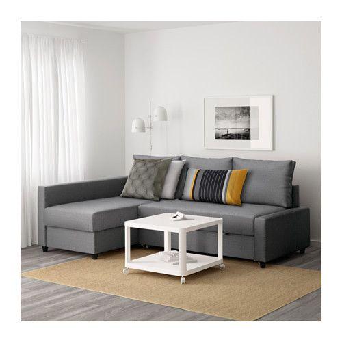 FRIHETEN Sofácama esquina - Skiftebo gris oscuro, - - IKEA