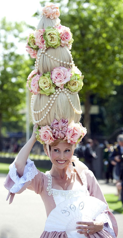 Louis Mariette head-piece at Royal Ascot