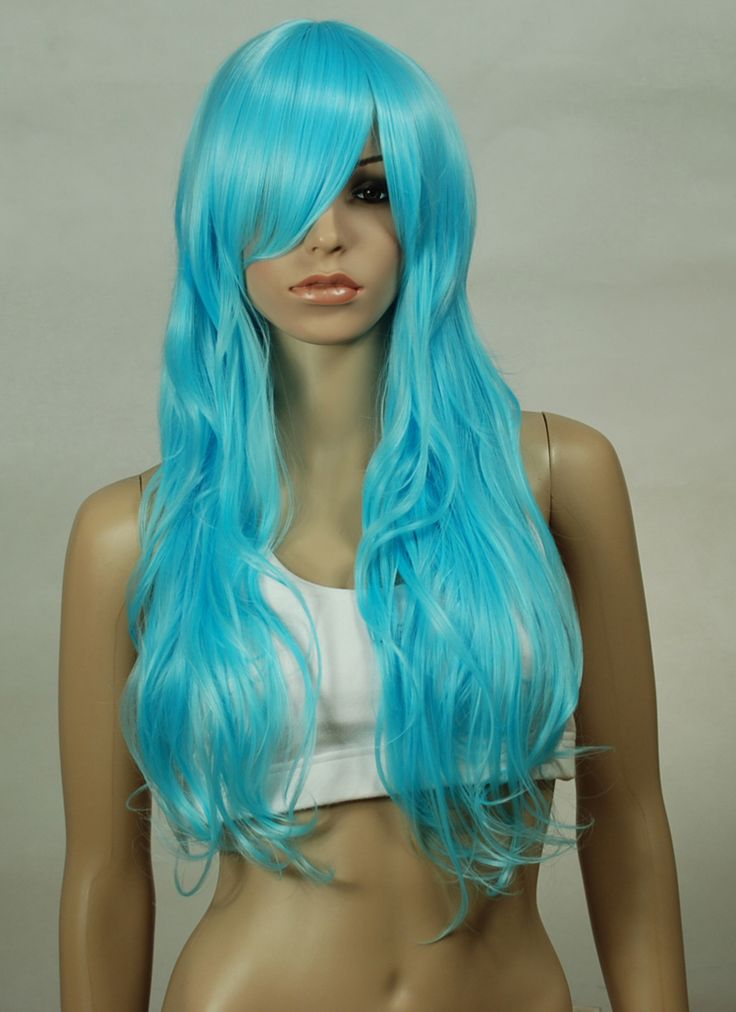 Possible wig - $32 | Sapphire Cosplay | Blue wig, Long ...