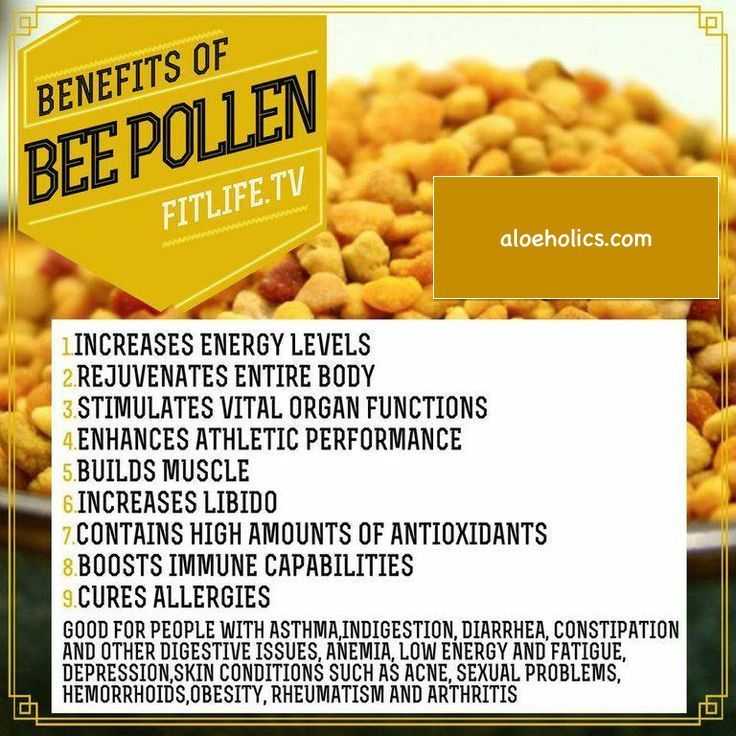 Our bee pollen is very potent it comes form the Sonoran Dessert with loads of healing herbs the bees forage from. http://aloeholics.com