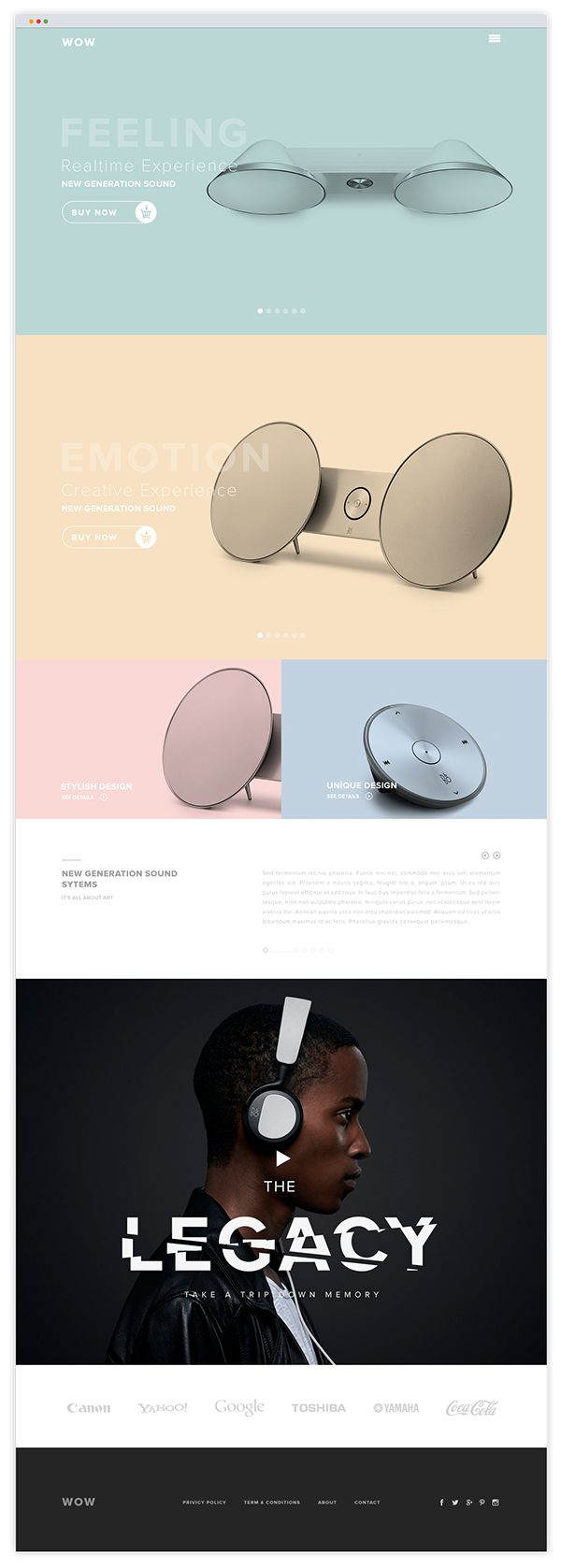 wow on Behance