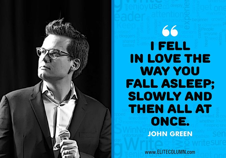 12 John Green Quotes From The Fault In Our Stars To Make You Cry Buckets