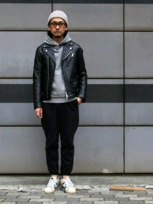 中年アシベ|adidasのパンツを使ったコーディネート - WEAR