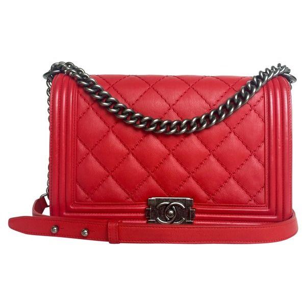chanel boy bag medium fashion chanel chanel tasche und tasche rot. Black Bedroom Furniture Sets. Home Design Ideas
