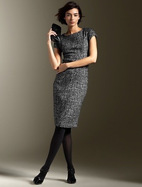 Een prachtige jurk voor naar het kantoor! Perfect voor de herfst en de winter! #work #business #dress
