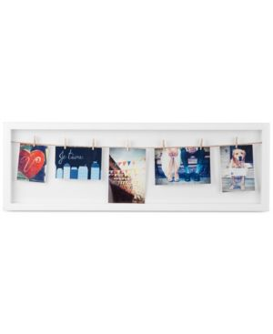 Umbra Clothesline Flip Photo Display - White