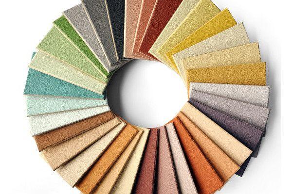 HAGA farbige Lehmcolor in verschiedenen Farben