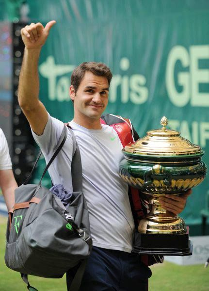 Roger Federer Halle Champion 2013 Visit www.sistem21-bet.com for free sports betting tips and earn guaranteed profit.