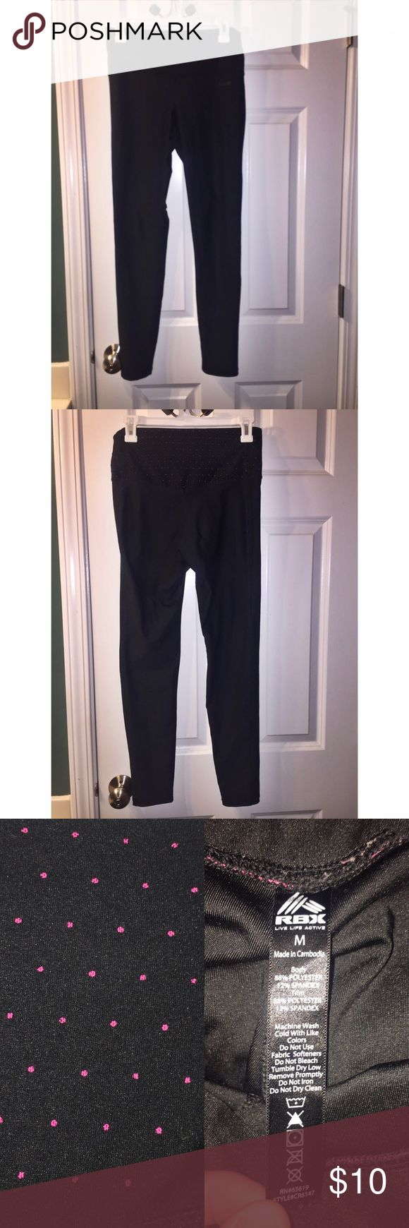 High Waisted Athletic Performance Leggings• Size M. 88% Polyester/12% Elastane. No trades❌❌ rbx Pants Leggings