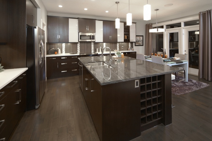 The Stanton Kitchen In Mahogany Trico Homes Check Out The New