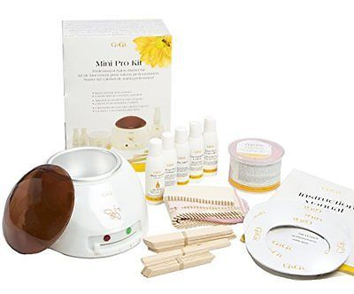 Gigi Wax Warmer Kit, Hair Removal Kit, Mini Pro Kit, With Strips and More, New