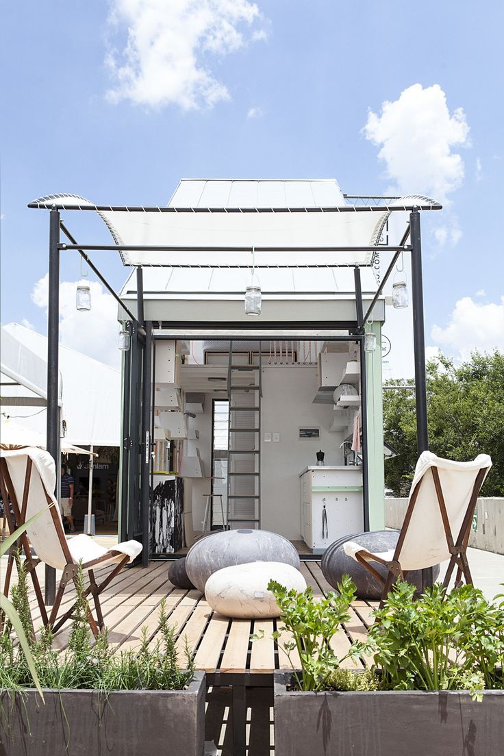 This Tiny House Comes Shipped to You in a Box And then you can even pack it up again, if you've got the travel bug. —Flat Pack Tiny House - POD-iDladla POD Home