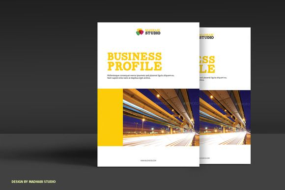 Corporate Brochure 8Pages by Madhabi Studio on @creativemarket