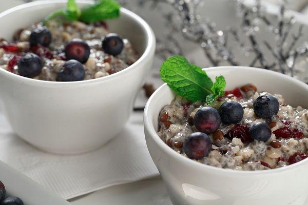 Red Lentil & Chia Porridge