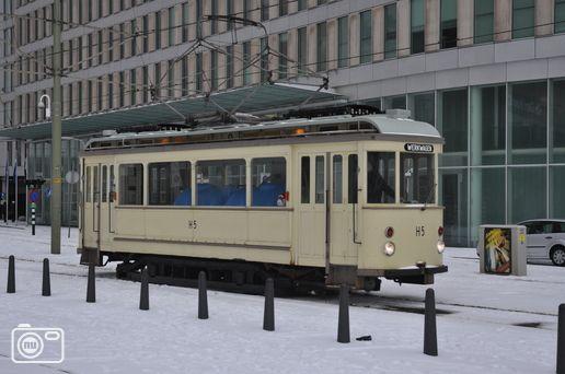 HTM zet oude trams in om sporen schoon te houden