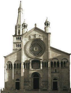 Architettura Romanica: CATTEDRALE DI MODENA