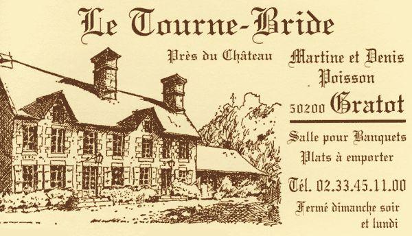 Restaurant Le Tourne-Bride à Gratot