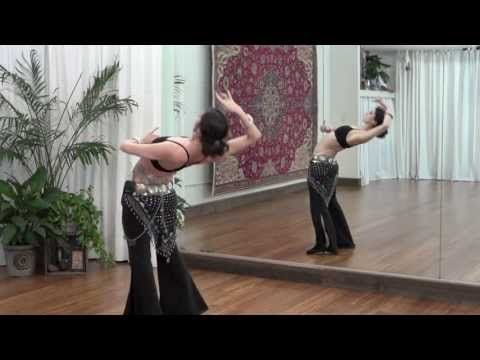 Laybacks, Drops and Zippers: Online Belly Dance Class with Rachel Brice - YouTube