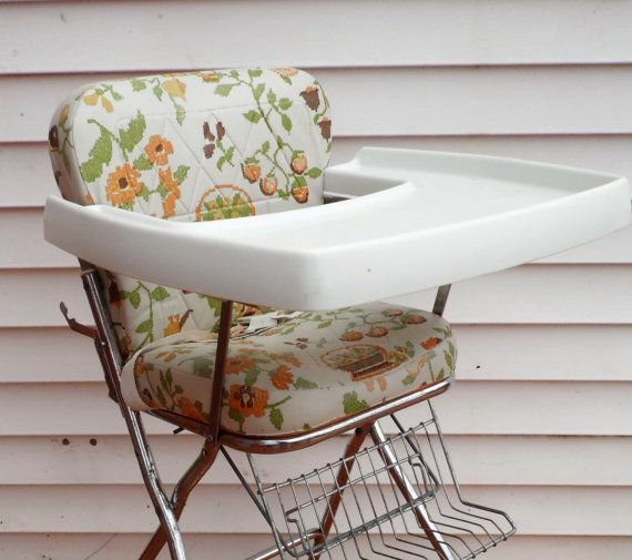 High Chair Vintage High Chair Kids Chair Baby High Chair