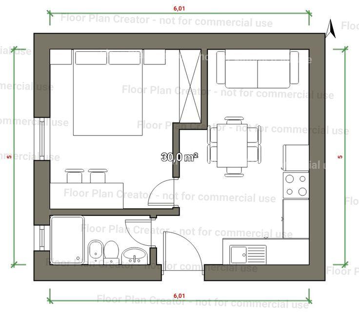 292 besten grundrisse bilder auf pinterest grundrisse kleine wohnungen und kleine h user. Black Bedroom Furniture Sets. Home Design Ideas