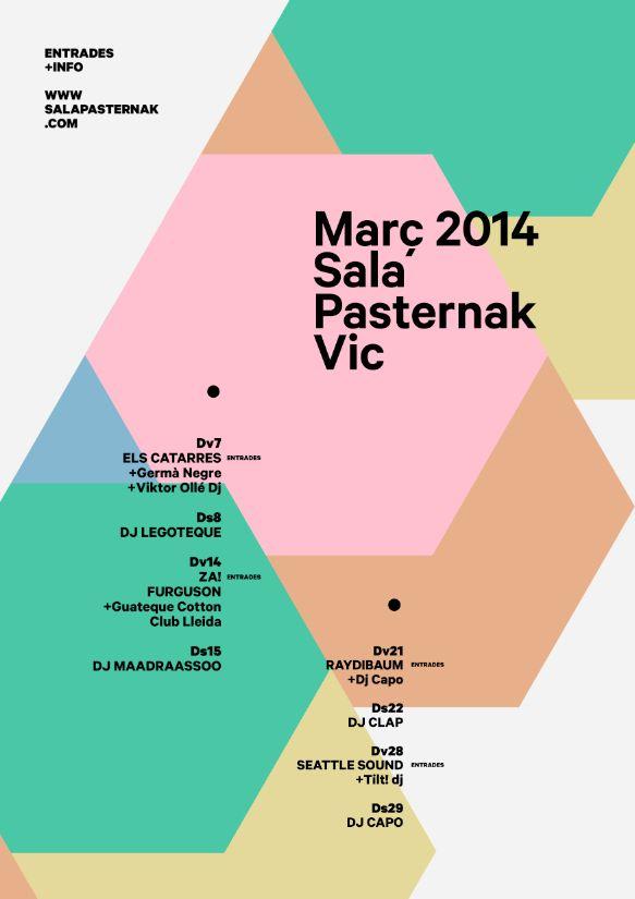 Monthly poster Pasternak on Behance