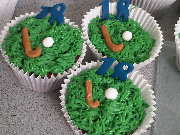 Cakes by Ash - Field Hockey cupcakes