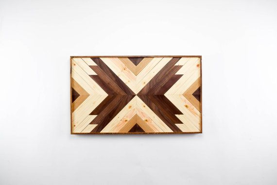Wood Wall Art - Wooden Wall Art - Geometric Wood Art - Wooden Wall Art Hanging - Modern Wood Art - Boho Wood Art - Rustic Wood Art