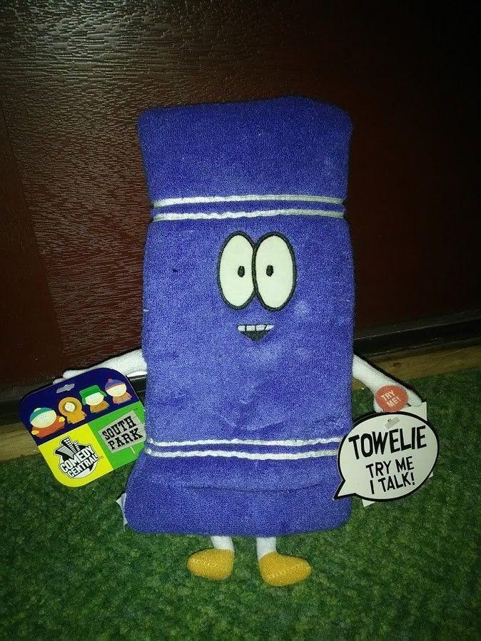 "SOUTH PARK TALKING TOWELIE Plush Toy 9"" Comedy Central Original RARE!!!  | eBay"