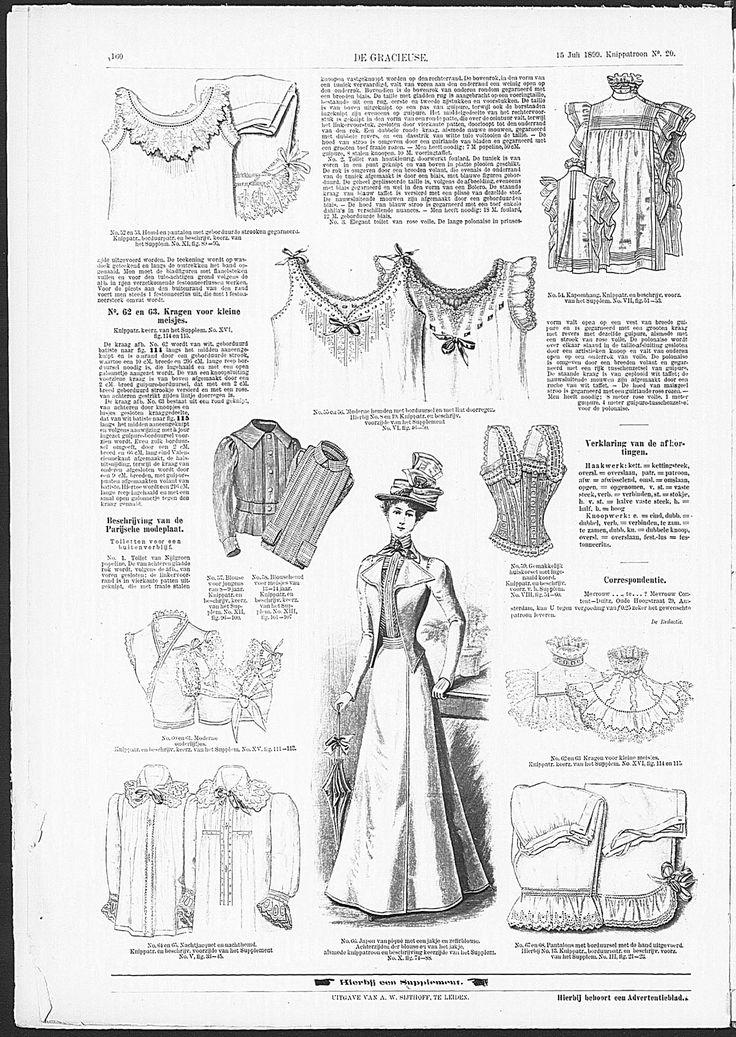 Gracieuse. Geïllustreerde Aglaja, 1899, aflevering 20