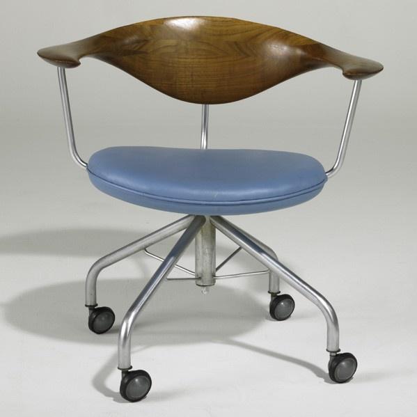 Wegner Swivel Chair Teak!