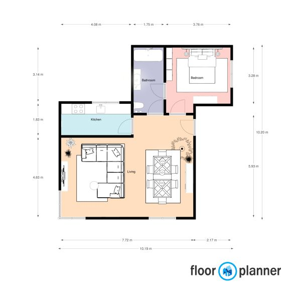 One Bedroom House Plan One Bedroom House Plans One Bedroom House Floor Plans