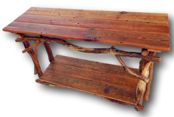 Rustic Wood Table Made In Arkansas By Woodzy! This Reclaimed