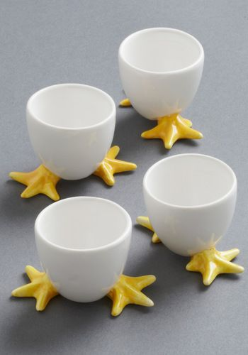 Cute Egg Cup Set