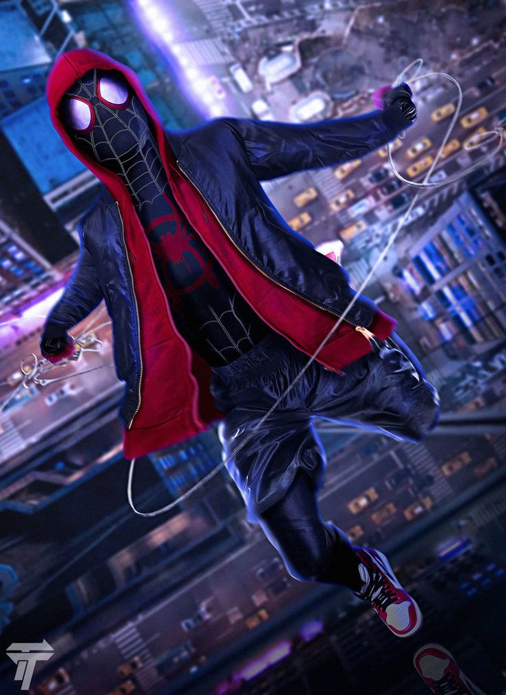Spider-man: Into the Spider-Verse by Timetravel6000v2.deviantart.com on @DeviantArt