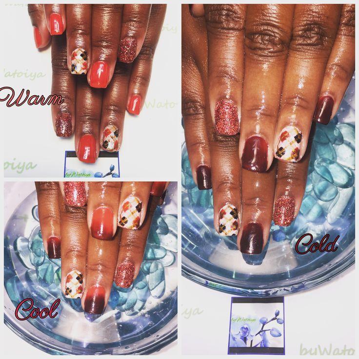 Wonderful Artistic Argyle Nail Creation byWatoiya #nails #naturalnails #soakoffgelpolish #argylenails #freehandnailart #moodpolish #ombrenails #watoiyawonder #bbtsalon #bywatoiya #AnotherWatoiyaWonder