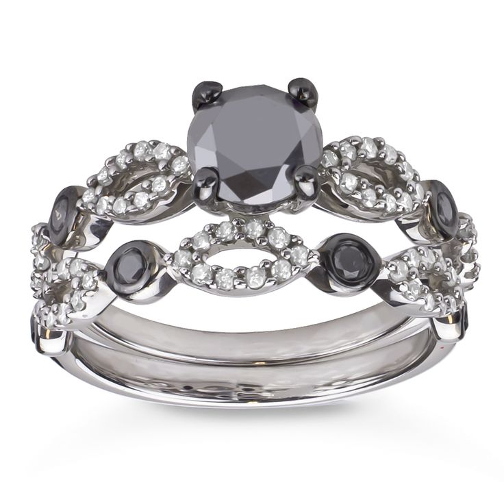 1000+ ideas about Black Wedding Rings on Pinterest ...