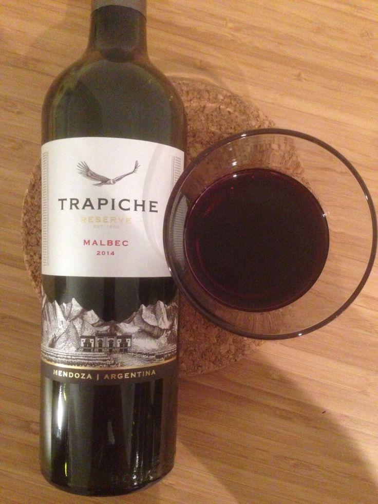 Trapiche 2014 | malbec | argentina | 3.25 stars | solid red