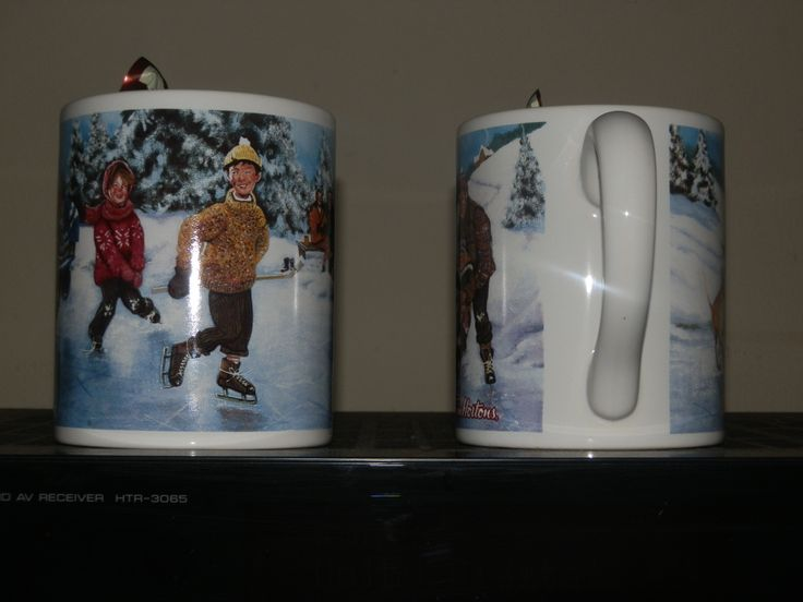Another view of the mugs.